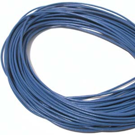 Blue Quality Leather 1.5mm
