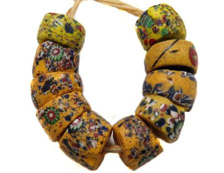 Antique Old Venetian crumb Trade Beads