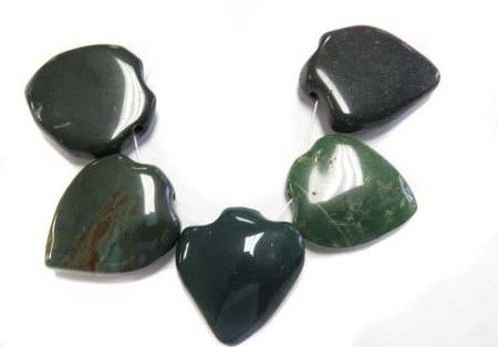 Antique Carnelian agate pendant African trade beads