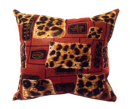 African print design pillow