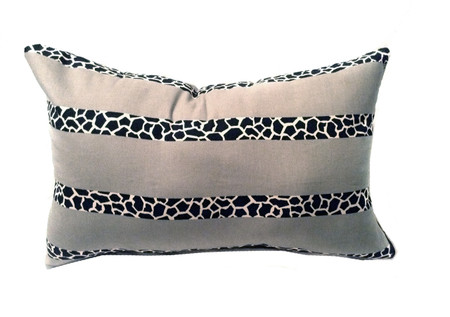 African print design Lumbar pillow