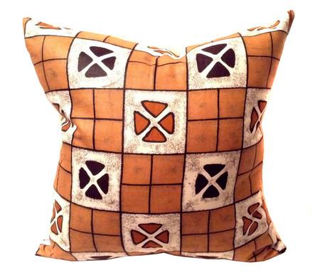 African pillow tribal print design