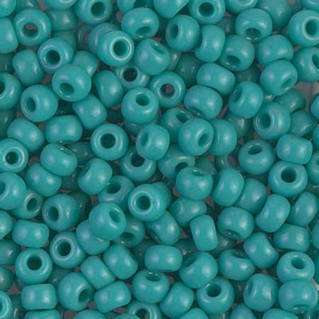 6/0 Seed Beads Miyuki Op Turq Green Glass beads