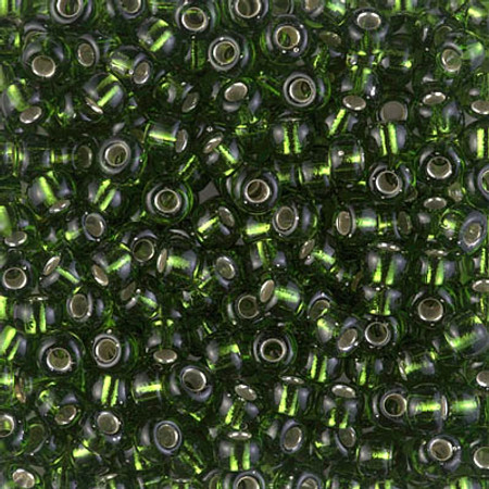 6/0 Seed Beads Miyuki S/L Olive Glass beads