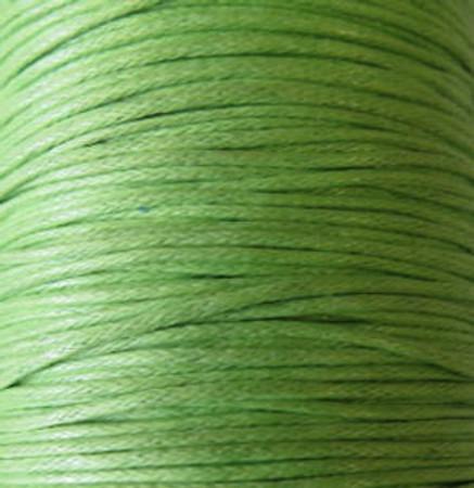 Apple Green Genuine Waxed Cotton Cord