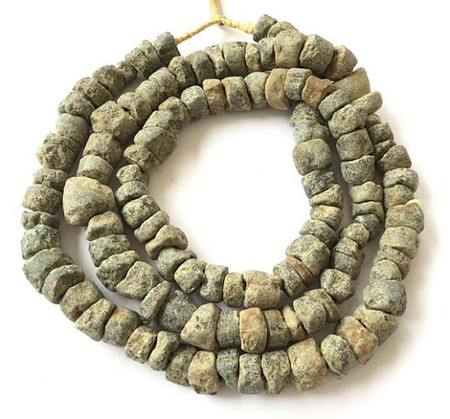 African Dogon Antique Mali stone Trade Beads