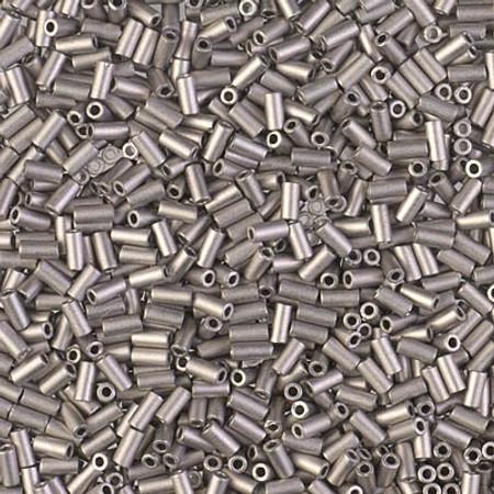 Japanese Seed Beads Matte Nickel Bugle Glass beads