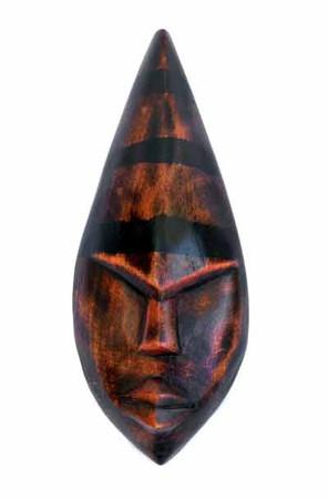 Akan Wisdom hand carved Mask