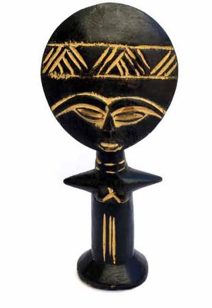 Handmade Obaatan fertility doll African Art Home Decor