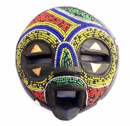 Ashanti sun spirit mask African art