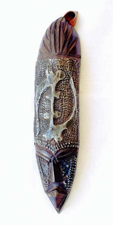 Gye Nyame mask African art