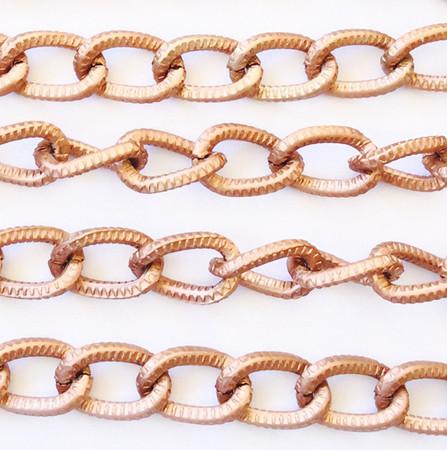 "36"" copper plated Aluminum Curb Chain"