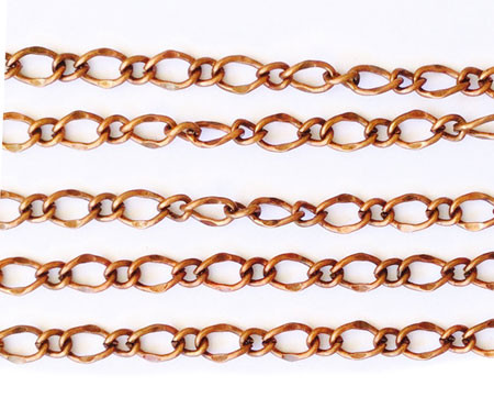 """36"""" Antique Copper plated Mother and Son Chain"""
