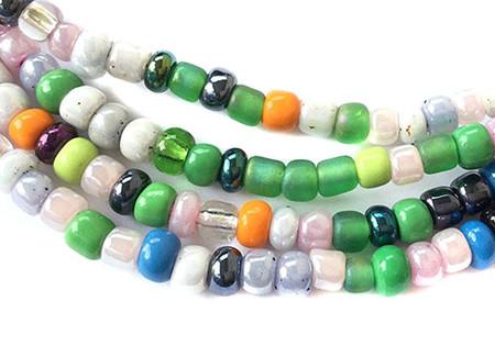 Fulani tribal seed Beads Glass African Trade Beads