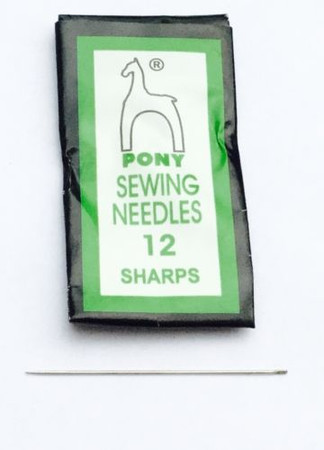 50PCS Pony Sharp Beading Needle #12 English-Style High Quality-Beading Supplies