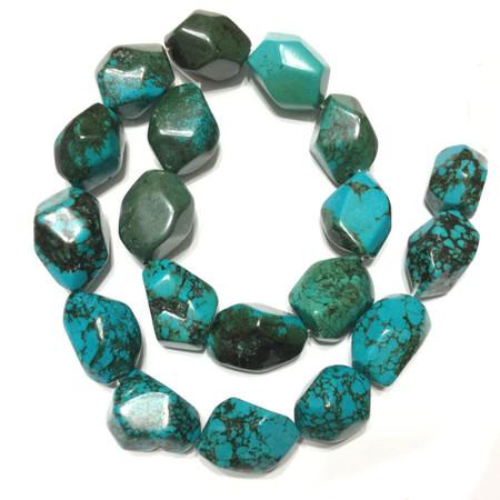 Turquoise Nugget Gemstone beads Stone