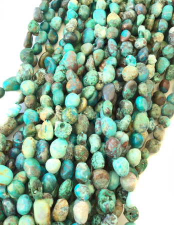 Genuine Fine Turquoise Nugget Gemstone beads Stone-jewelry Supplies