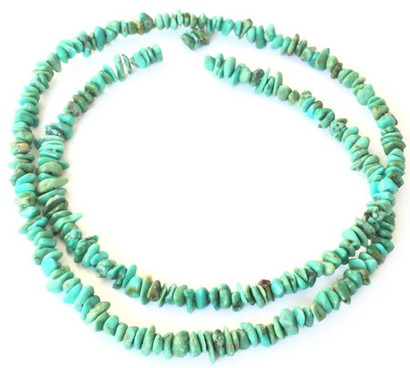 Tiny African Turquoise Chips Gemstone beads Stone-Ghana