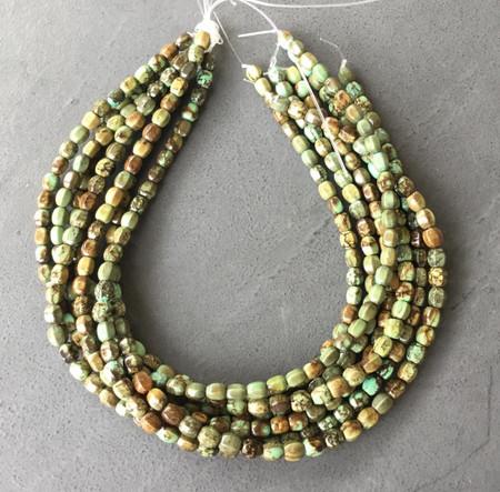 8x6mm Genuine Fine Turquoise Oval Gemstone beads