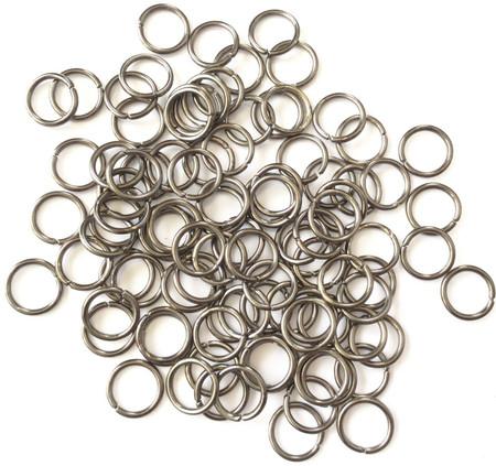 10mm Gunmetal Jump ring 160 Pieces-Wholesale Price
