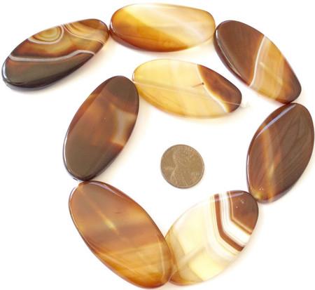 50x24mm Perfect Gemstone natural Smooth Oval slab Carnelian Agate Gemstone Beads