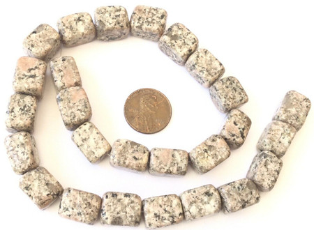 16x12mm Fine Leopard Skin Jasper Gemstone beads Cube Stone Jewelry Supplies