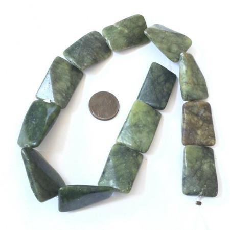 Amazing Natural Guate Dark Olive Jade Gemstone beads Stone Jewelry Supplies