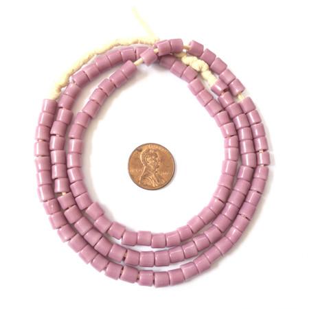 Fine Vintage Czech Bohemian Glass purple African Trade beads