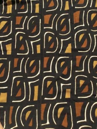 44x69 Large Mali mud cloth fabric M104