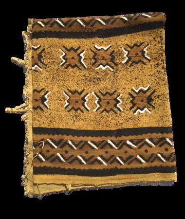 44x69 Large Mali mud cloth fabric M105