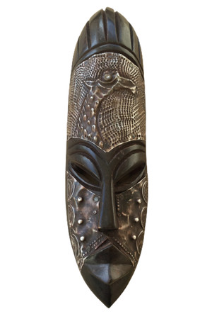 Wealth and Strength tribal mask African art