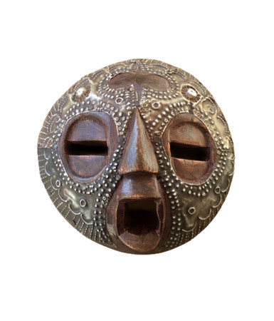 Sankofa tribal mask African art