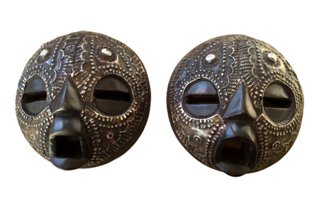 Ntafoɔ Twin tribal mask African art