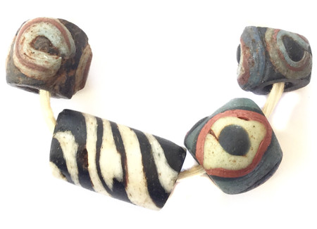 Great African ancient eye Islamic beads