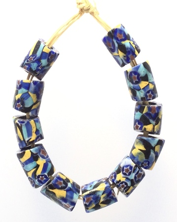Copy of Venetian Antique Millefiori matching African Glass Trade beads-Ghana [93665]