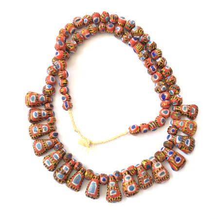A Strand Beautiful Mauritanian Kiffa African trade beads