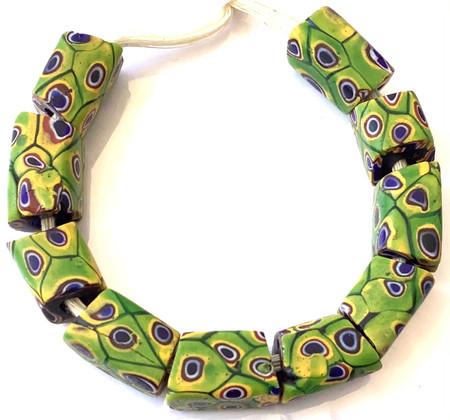 Antique Venetian Millefiori trade beads [95612]