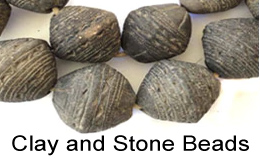 Clay and Stone beads