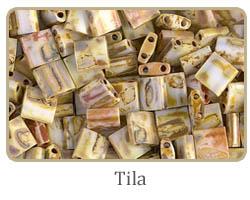 Japanese Tila seed beads