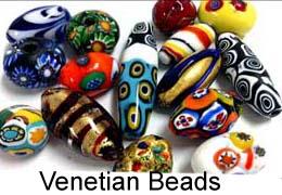 Vintage Venetian beads