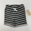 Gray Stripe Shorts 18 mth