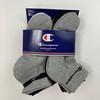 6 Pairs Logo Stripe Quarter Socks 5Y-7Y