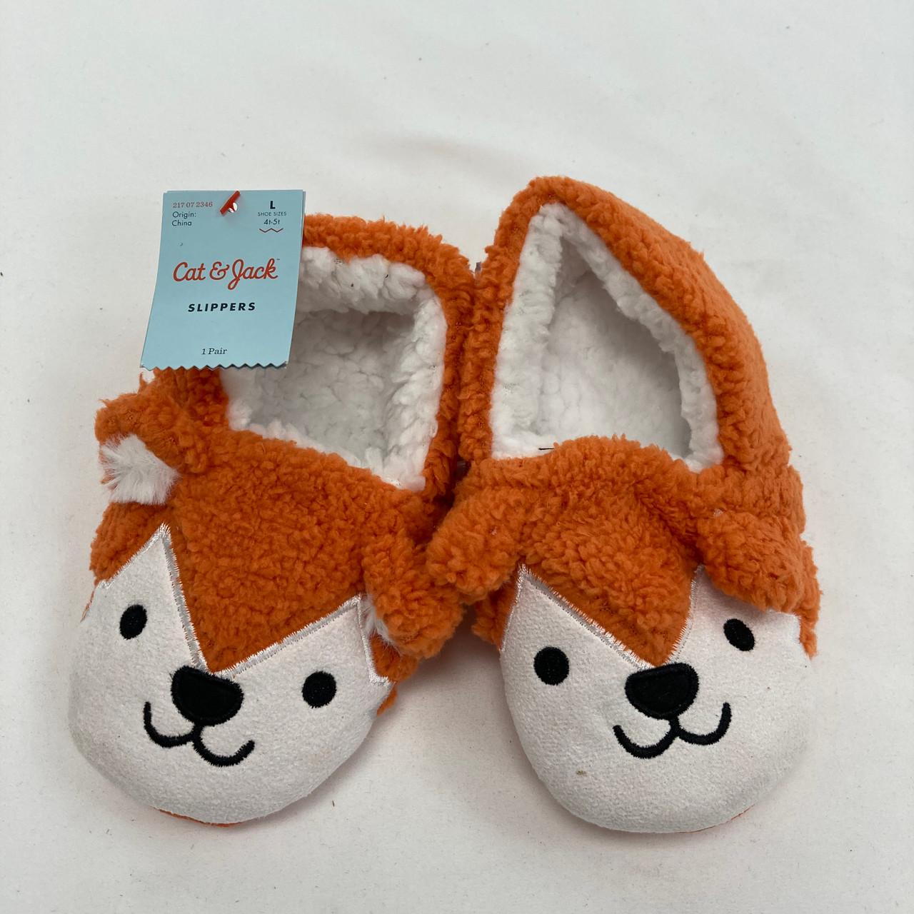 Fox Slippers 4-5T - Kidzmax
