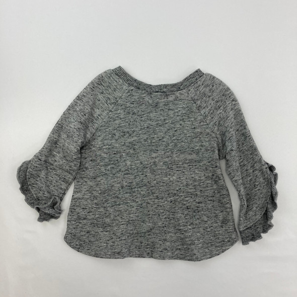 Gray Long Top 6-12 mth