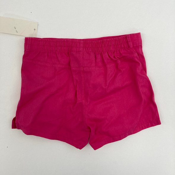 Solid Pink Shorts 4T