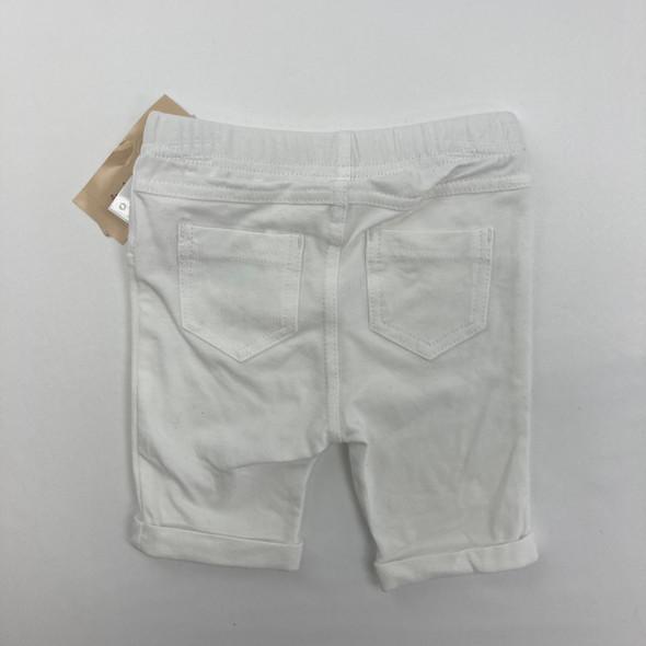 White Capri Pants 12 mth