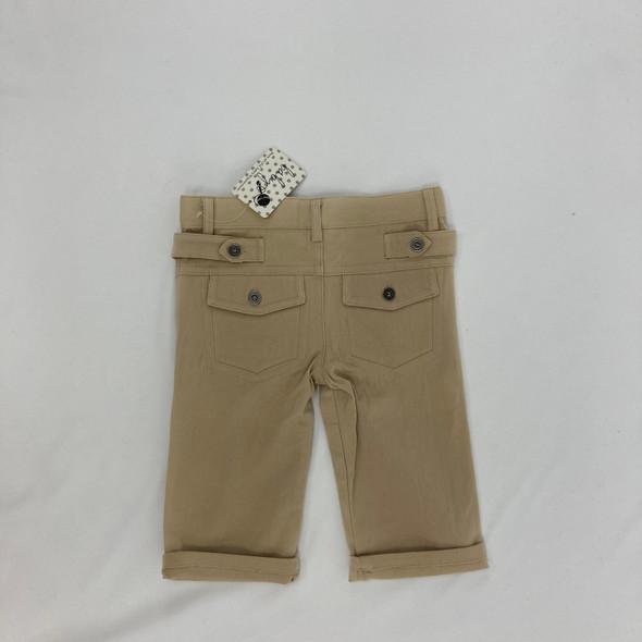 Cuffed Khaki Pants 6-12 mth