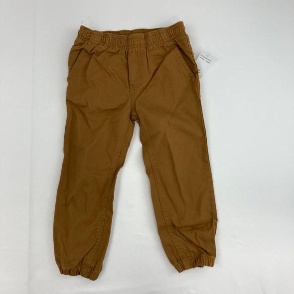 Tan Jogger Pants 4T