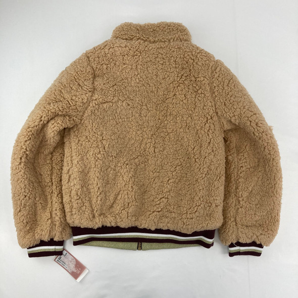 Fluffy and Floral Reversible Jacket 10/12 yr