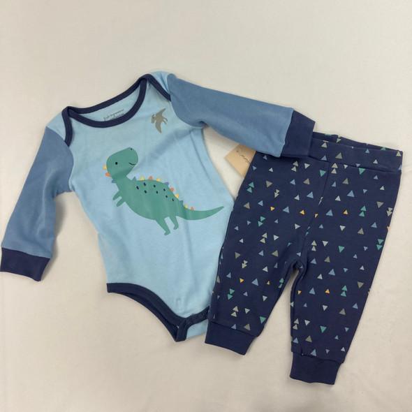 Dinosaur Pants Set 0-3 mth